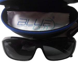 Blue Cut NWOT Fit-Over Sunglasses w/ Case